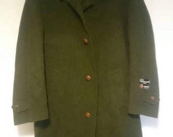 Pierre Cardin coat long Loden weyrer Austrian