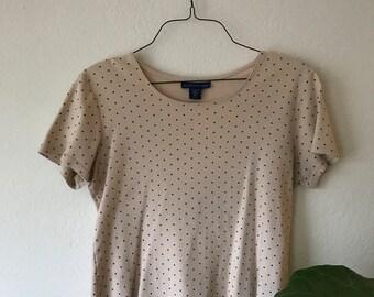 Camel Polka Dot Shirt
