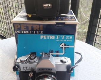 Petri FTee Automatic 35mm SLR Film Camera