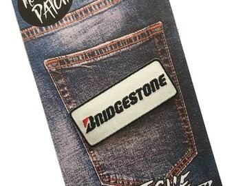 Bridgestone Embroidered Iron On Patch