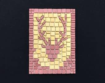 Red Deer Mosaic