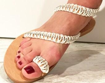 Santorini Wedding Sandals