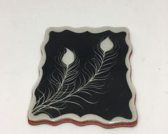 Rubber Stamp / Little Feathers Cling Stamp / Scrapbooking / Card Making Supplies / Arts & Crafts / Kids Crafts / Cling St