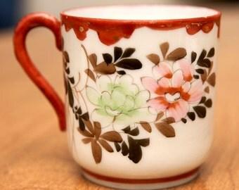 Bouillon Teacup & Saucer Set - Vintage