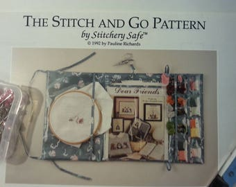 Stitch n Go pattern stitchery keep safe rollup