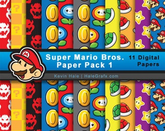 Super Mario Digital Paper Kit