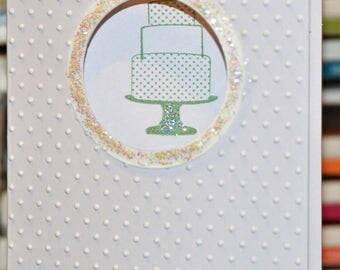 Wedding Cake Stampin' Up Card