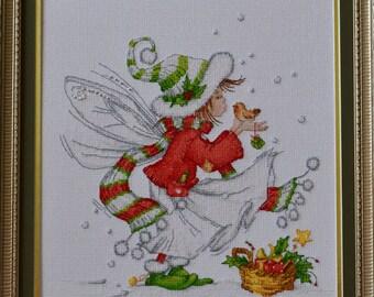 Christmas little fairy