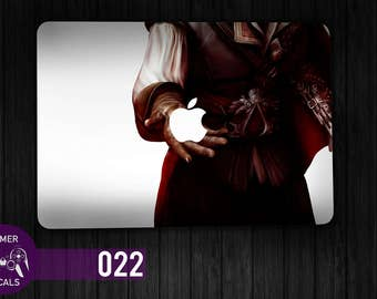 Assassin's Creed Ezio Decal, Ezio decal, Assassin's Creed sticker, Assassin's Creed Skin, Gamer Skin, Gamer Decal, Laptop Decal - GD022