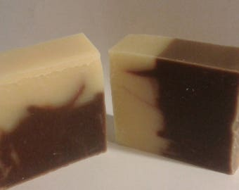 Chocolate handmade soap