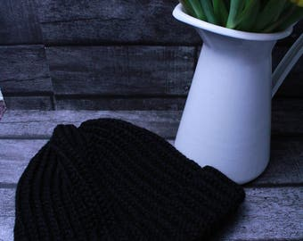 Adult knitted hat