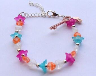 Butterfly flower key