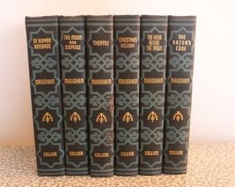 W. Somerset Maugham 6 volume Collier set