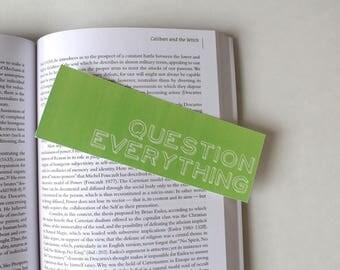 Bookmark - Set of 3 - Unique Bookmark Gift - Funny Bookmark