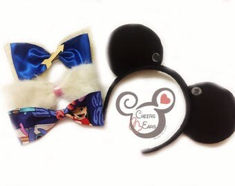 Interchangeable Bow Minnie Ears