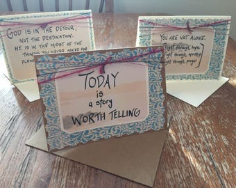 ENCOURAGEMENT (set of 3 note-cards)