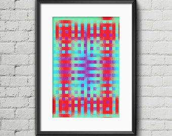 Chequered I - Art Print