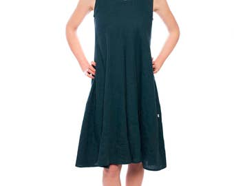 Linen dress/ linen summer dress/ linen clothing/ eco linen dress/ maternity linen dress