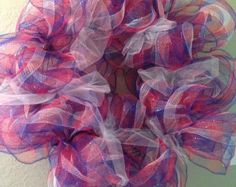 Red,White, and Blue Wreath