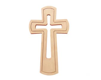 Birch plywood cross