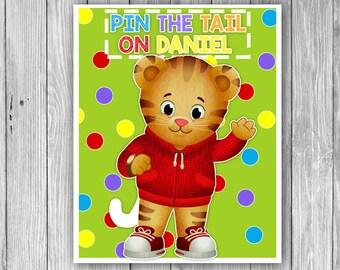 Pin The Tail On Daniel (Digital)