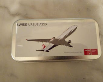 """""""Swiss Airbus A330"""" collector's box"""