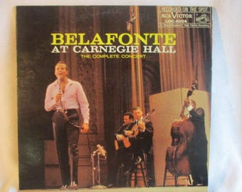 Harry Belafonte, Belafonte at Carnegie Hall LP