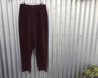 CLEARANCE | last chance to buy | high waisted corduroy trousers