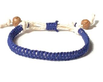 Katana Handmade Hemp Bracelet