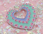 Tentacle Love XL Soft Enamel Pin
