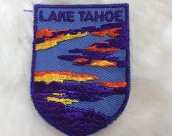 Vintage Lake Tahoe Patch