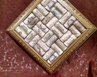 Cork Trivet or Wall Haning