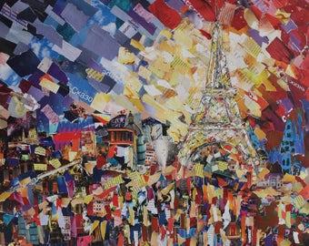 """Picture """"Memories of Paris"""""""