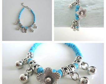 Tibetan Flower Bracelet