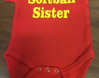 softball sister shirt