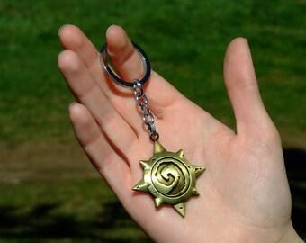 Hearthstone Bronze Star Keychain