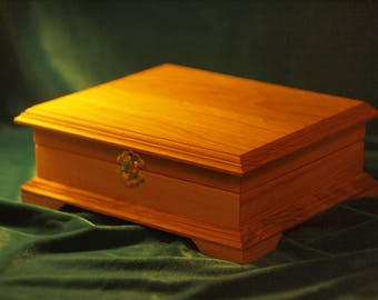 The box (Casket)  of wood ash