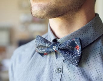 Blue Rabbit Bowtie
