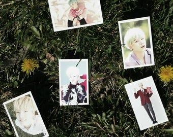Suga Photo cards