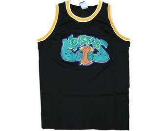 Retro Monsters Space Jam Tune Squad Michael Jordan Basketball Jersey