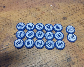Influence Tokens for Mob Football Game