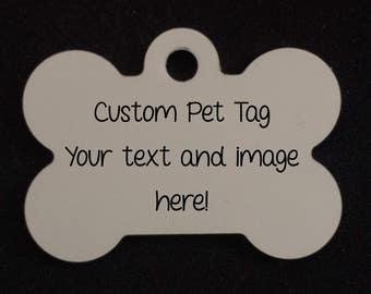 Personalized Pet Tag - Custom
