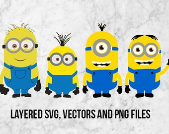Despicable me Minions Svg, Minion Clipart, Despicable me svg, Minions clipart, Minions appliques, Despicable me Minion Clip Art, Minions png