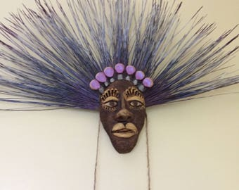 Custom Clay Mask Wall Art
