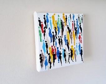 Original painting - mini art - Society
