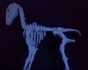 Handmade Rocking Horse Skeleton - Equineskeletal Grey