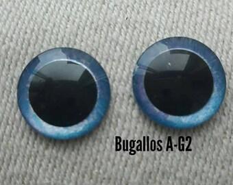 Eyechips blue iris for blythe dolls