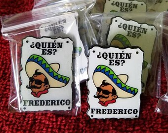 "Greensky Bluegrass Pin ""Frederico"""
