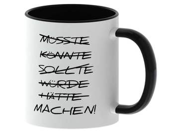 Cup with spell - making! -Made in Germany - TassenTicker - coffee - tea cup