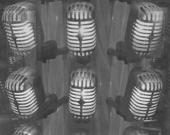 Microphones - iPhone Background